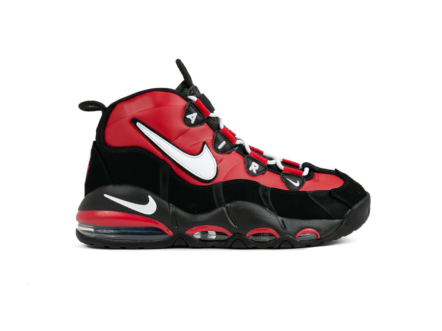 NIKE AIR MAX UPTEMPO 95 UNIVERSITY RED WHITE 100