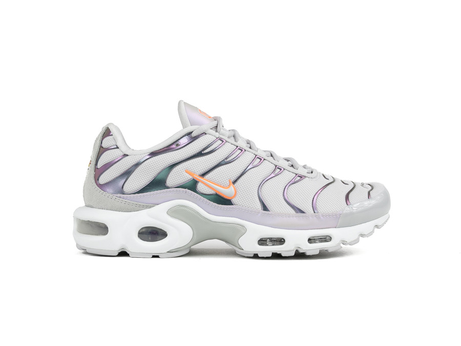 NIKE AIR MAX PLUS VAST GREY ORANGE PULSE