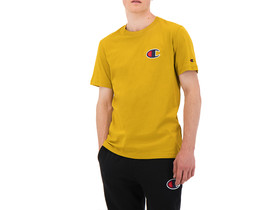 CAMISETA  CHAMPION LOGO YELLOW
