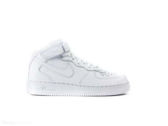 NIKE WMNS AIR FORCE 1 MID SHOE-366731-100-img-1