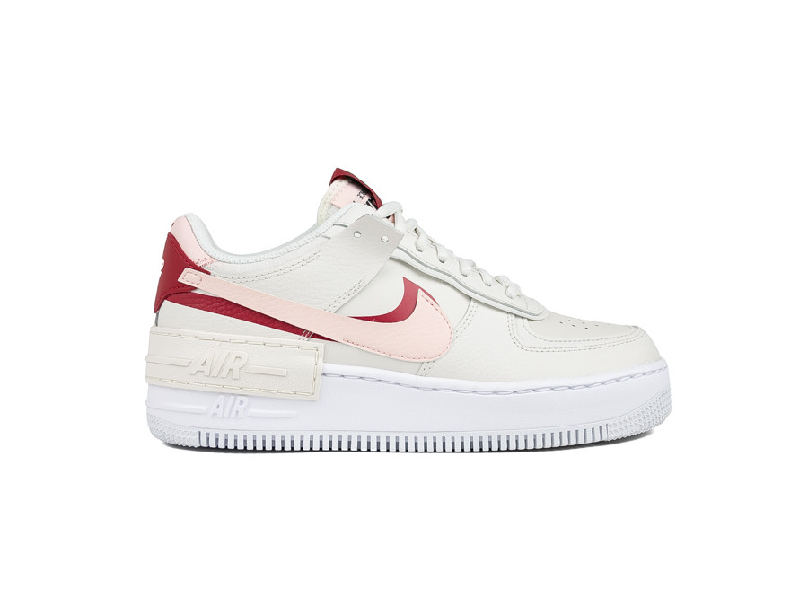 NIKE WOMEN AIR FORCE 1 SHADOW PHANTOM ECHO PINK GY