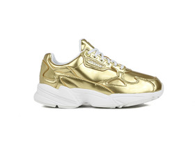 ADIDAS FALCON W GOLD MET