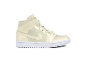 AIR JORDAN 1 MID FOSSIL WOMEN