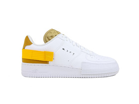 NIKE AIR FORCE 1 TYPE WHITE...