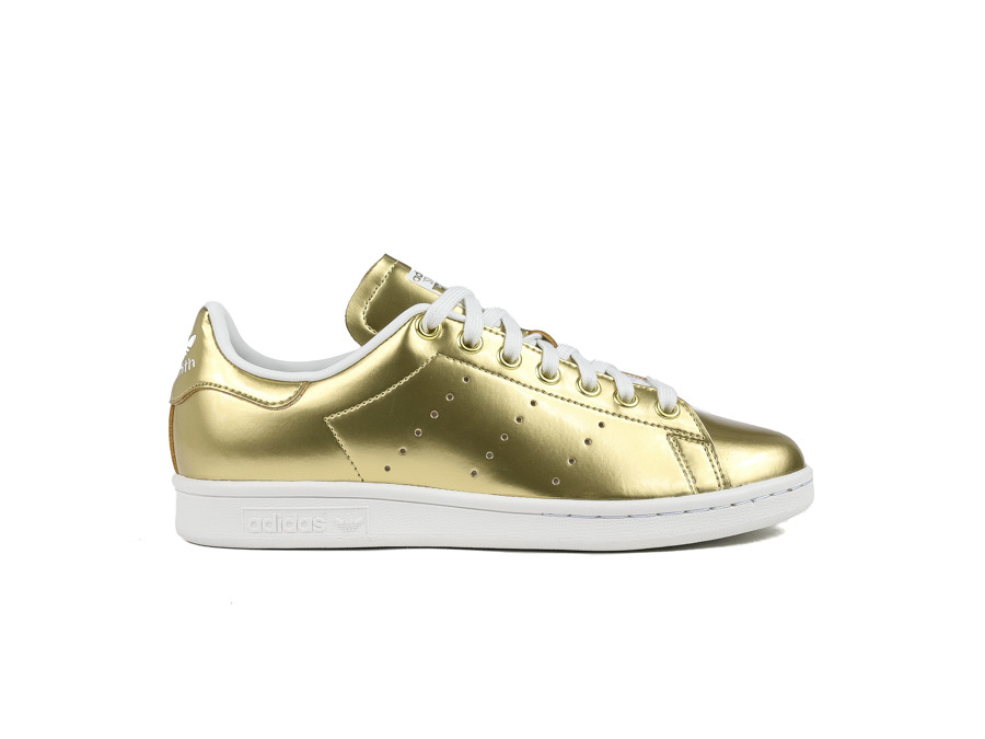 ADIDAS STAN SMITH GOLD MET