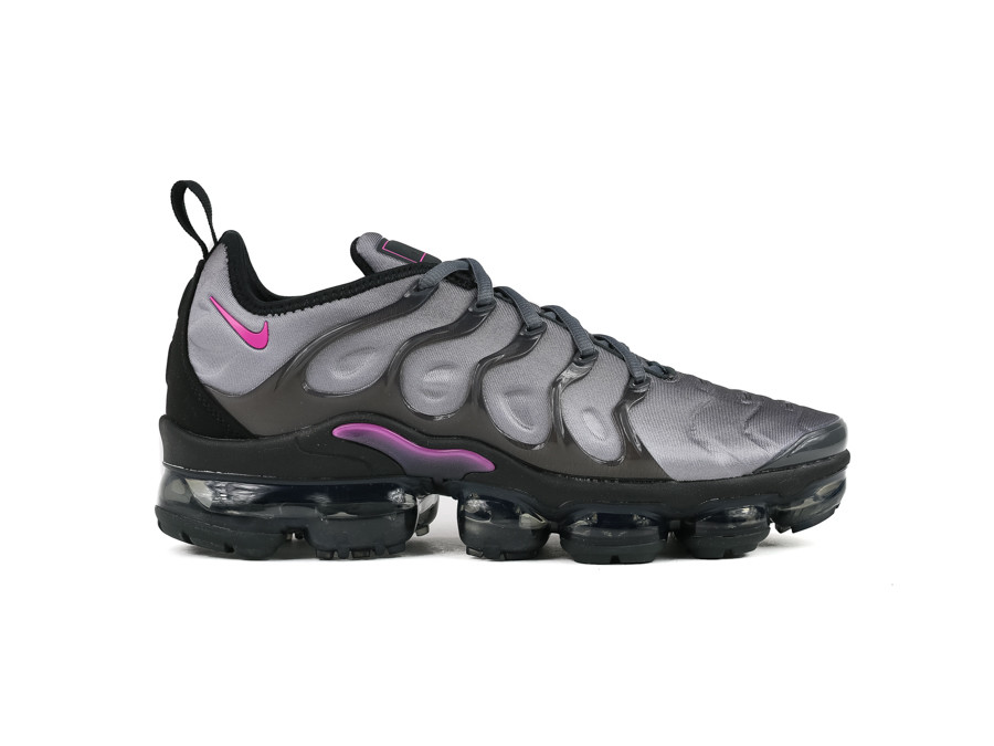 NIKE AIR VAPORMAX PLUS ATMOSPHERE GREY ACTIVE FUCH
