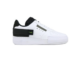 NIKE AIR FORCE 1 TYPE WHITE VOLT...