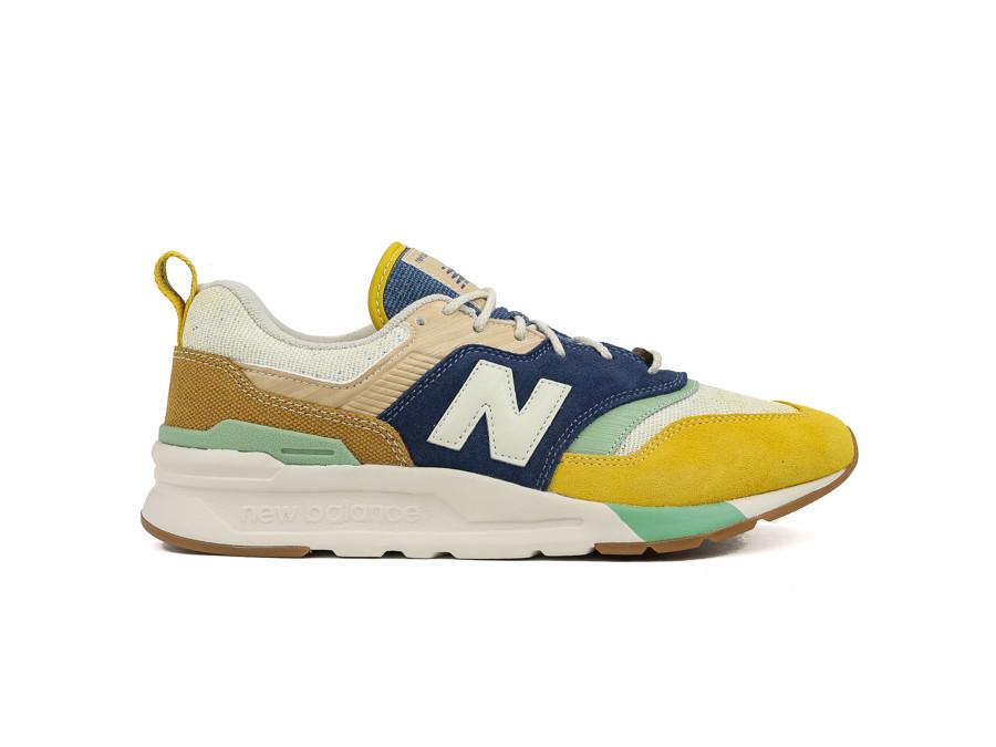 mayoria sueño Mutuo  NEW BALANCE CM997HAO YELLOW - CM997HAO - zapatillas sneaker - TheSneakerOne