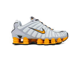NIKE SHOX TL OFF WHITE ORANGE...