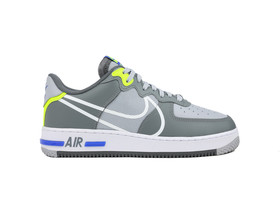 NIKE AIR FORCE 1 REACT WOLF GREY...