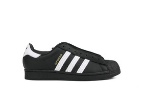 ADIDAS SUPERSTAR LACELESS BLACK