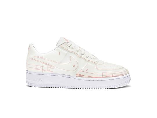 nike air force 1 blancas y rosas