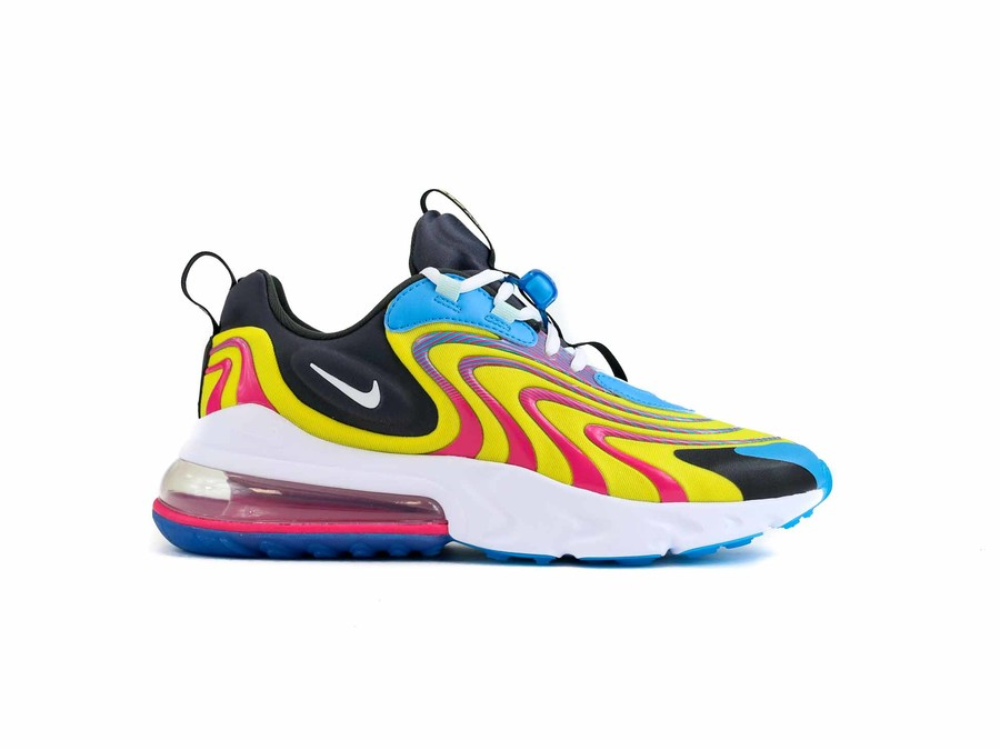NIKE AIR MAX 270 REACT REACT ENG LASER BLUE