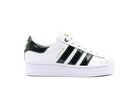 ADIDAS SUPERSTAR BOLD W WHITE BLACK