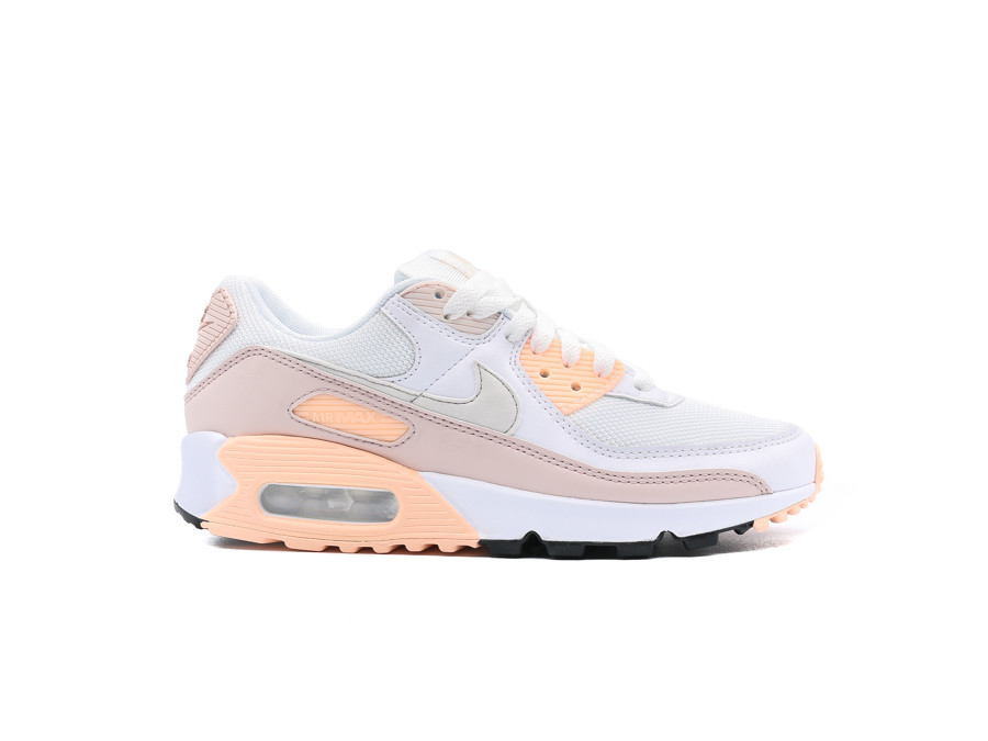 NIKE WMNS AIR MAX 90 WHITE PLATINUM