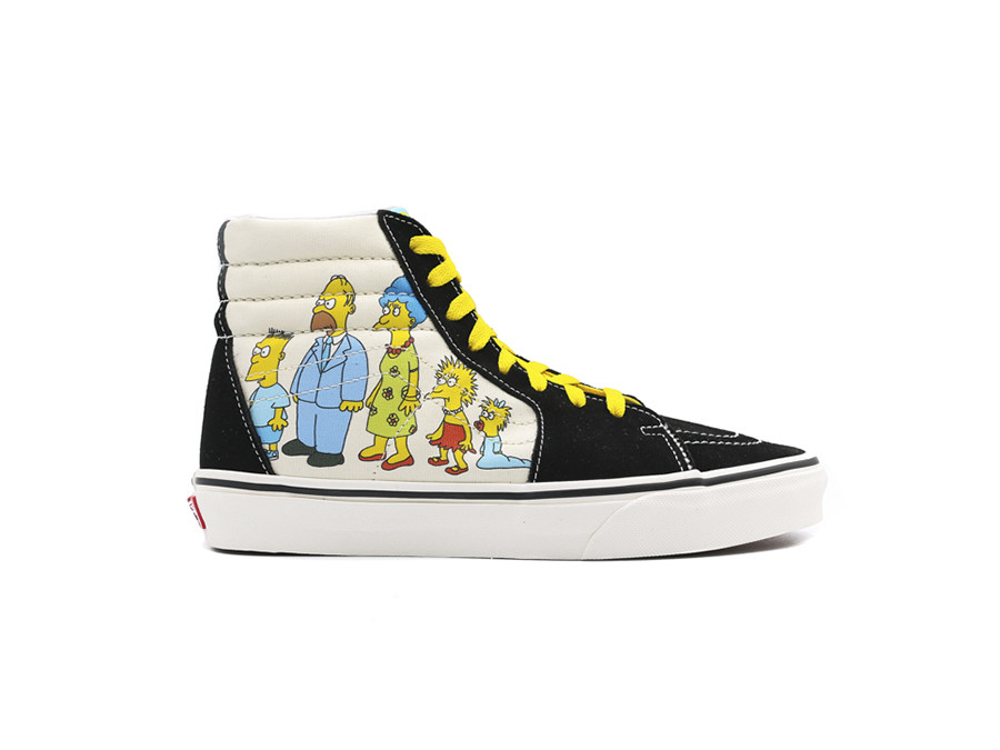 VANS SK8-HI ZIP THE SIMPSONS 1987-2020