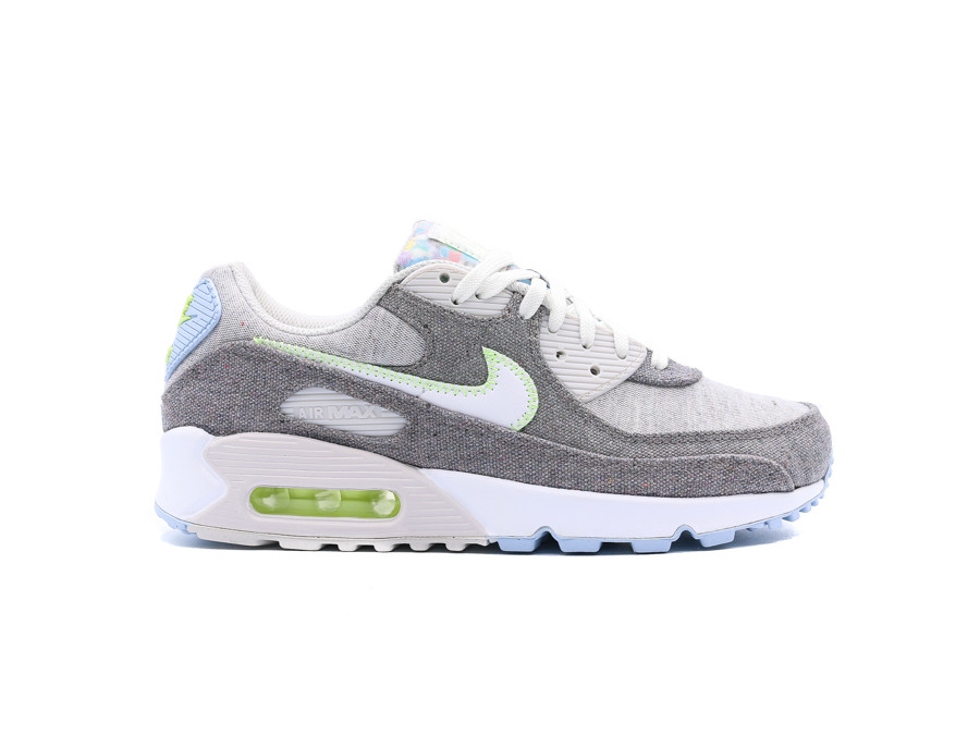 NIKE AIR MAX 90 RECYCLED CANVAS VAST GREY