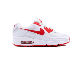 NIKE AIR MAX 90 WHITE HYPER RED