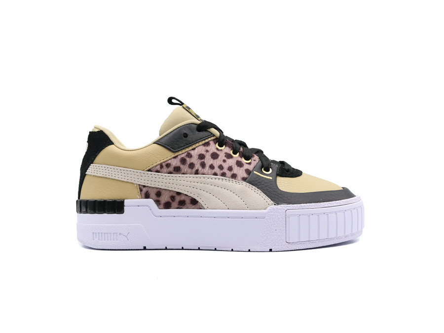 PUMA CALI SPORT W.CATS WN'S PALE KHAKI-WHITE-BLACK
