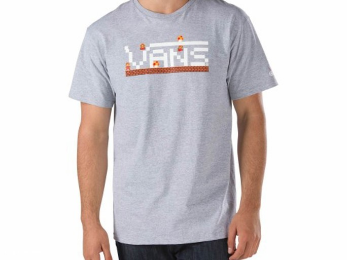 Camiseta Nintendo SS Tee gris - Nintendo Vans-VZ6NATH-img-1