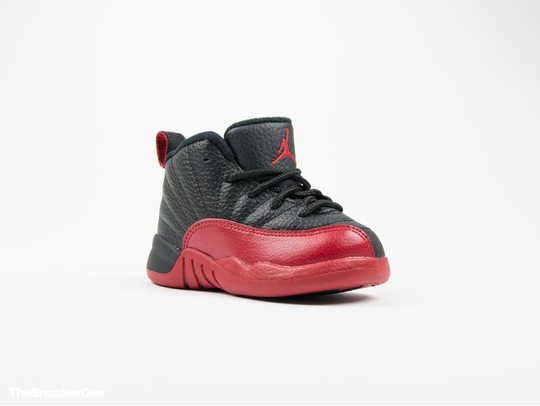 Air Jordan Retro XII Flu Game negra y roja niño-850000-002-img-2