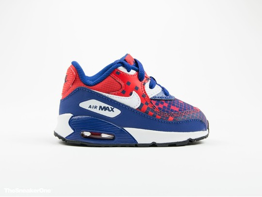 Nike Air Max 90 Premium Mesh Toddler-724884-401-img-1