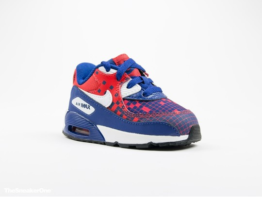 Nike Air Max 90 Premium Mesh Toddler-724884-401-img-2