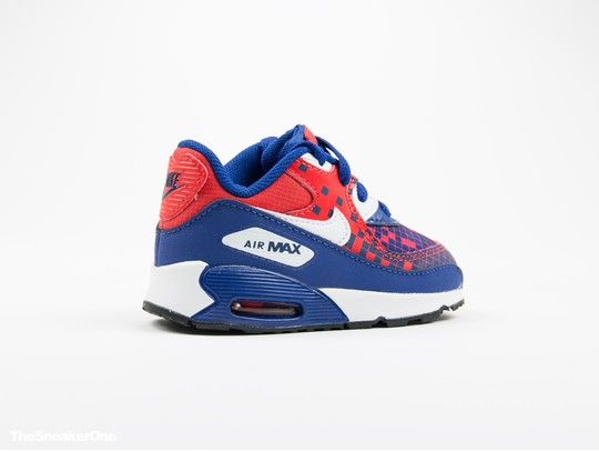 Nike Air Max 90 Premium Mesh Toddler-724884-401-img-3