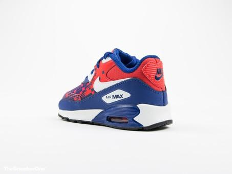 Nike Air Max 90 Premium Mesh Toddler-724884-401-img-4