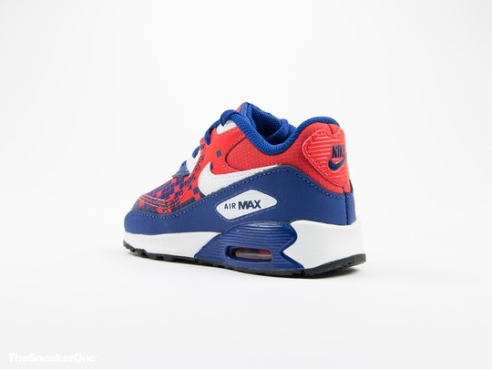 Nike Air Max 90 Premium Mesh Toddler-724884-401-img-4