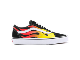 VANS OLD SKOOL FLAME BLACK