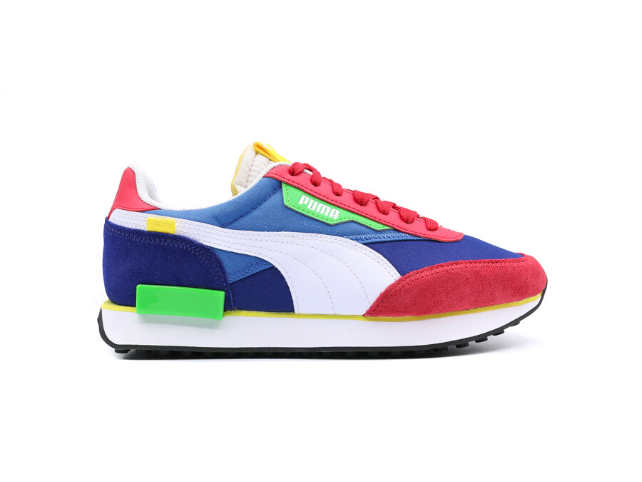 PUMA FUTURE RIDER ON AMERICAN BEAUTY- WHITE