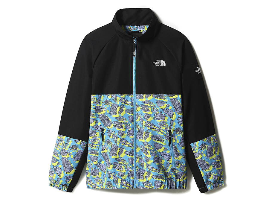 TRACK TOP THE NORTH FACE BLACK BOX  SWEET LAVANDER