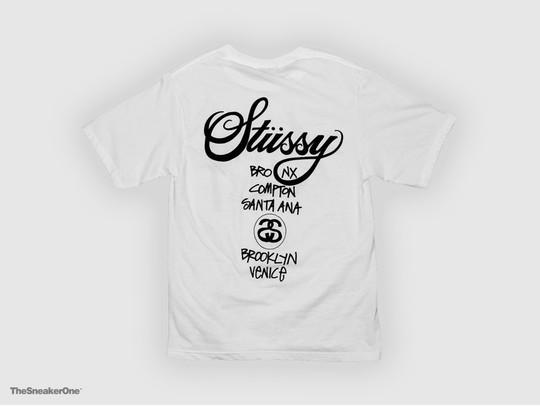 Camiseta Stussy World Tour Tee Blanca-SMST1903817/W-img-2