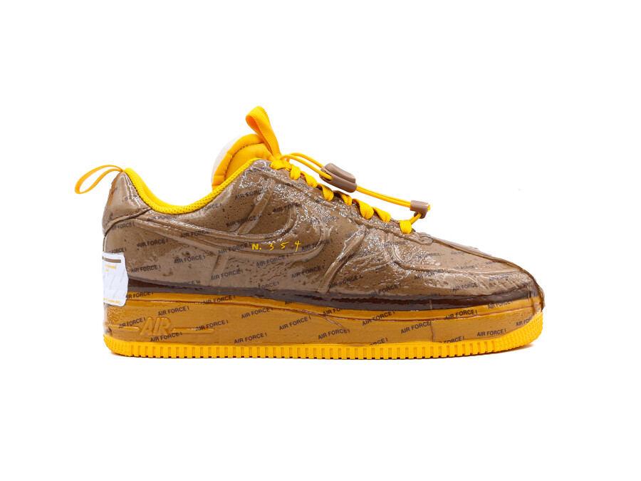 NIKE AIR FORCE 1 EXPERIMENTAL ARCHAEO BROWN-UNIVER