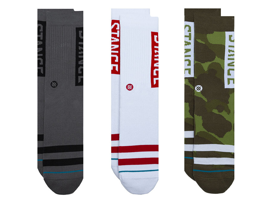 CALCETINES STANCE 6 THE OG 3 PACK