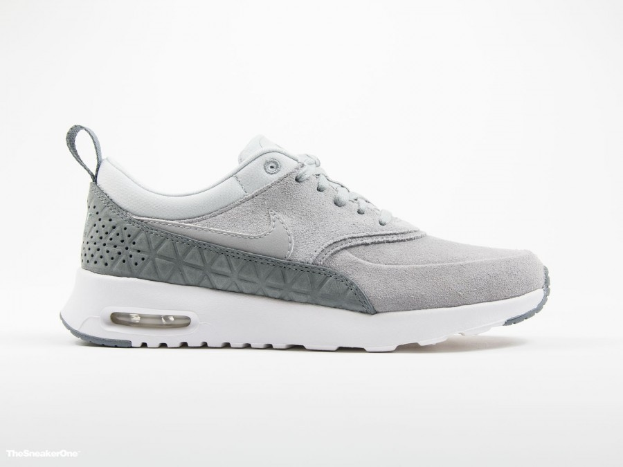 Nike Wmns Air Max Thea PRM Leather Matte Silver