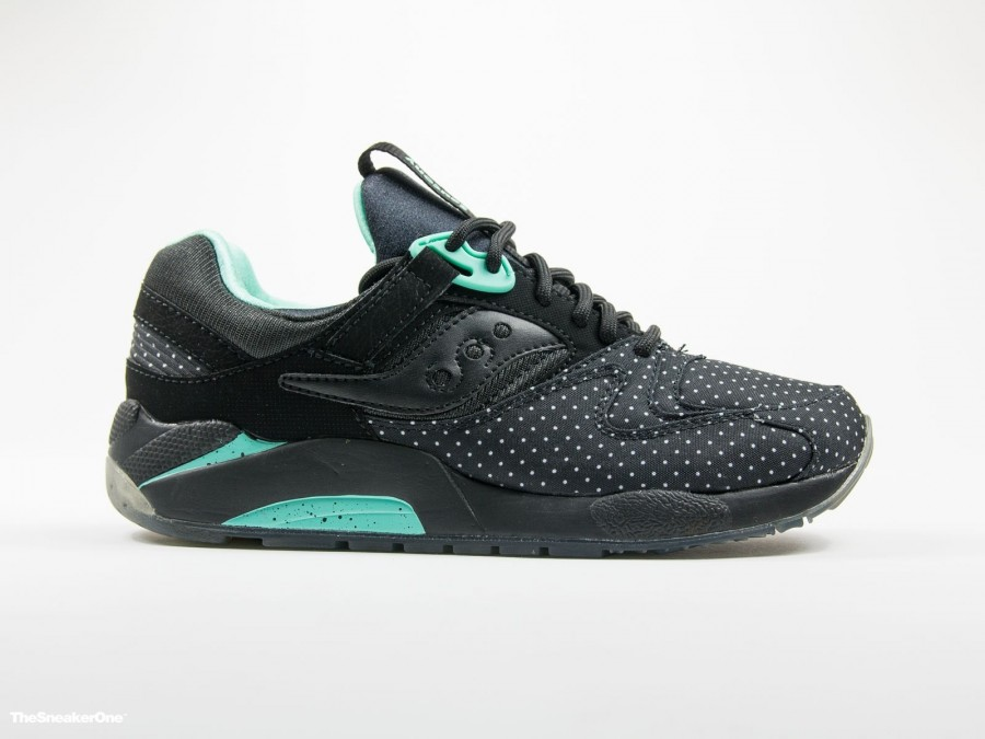 Saucony Originals Grid 9000 Dots Pack black