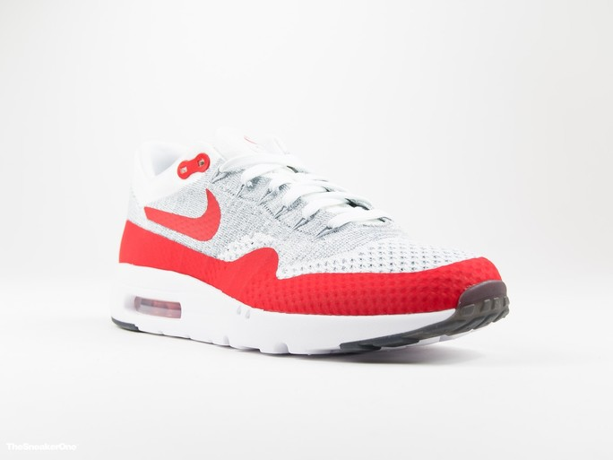 Nike Air Max 1 Ultra Flyknit | White/Red-843384-101-img-1