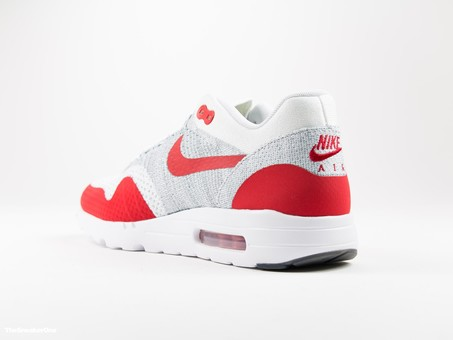 Nike Air Max 1 Ultra Flyknit | White/Red-843384-101-img-2