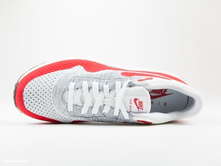 Nike Air Max 1 Ultra Flyknit | White/Red-843384-101-img-4