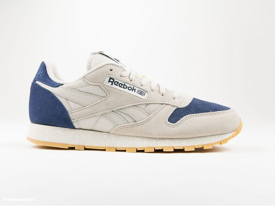 Reebok CL Leather SM Sand Stone-AQ9773-img-1