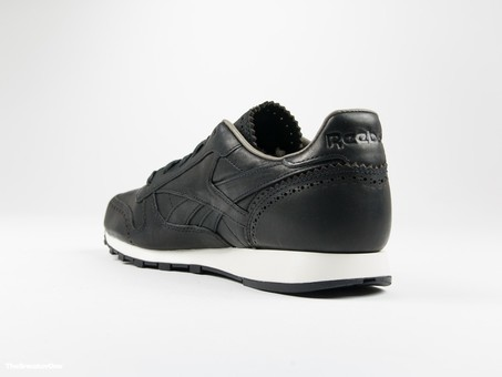 Reebok Classic Leather Lux Horween Black-AQ9961-img-2