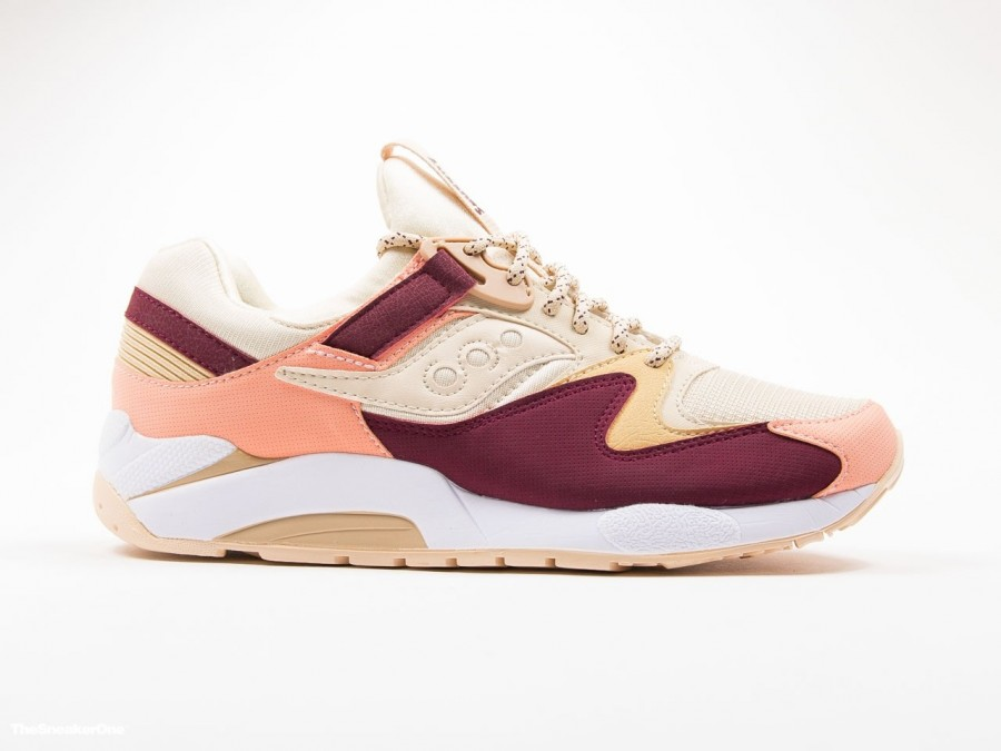 Saucony Grid 9000 Cream