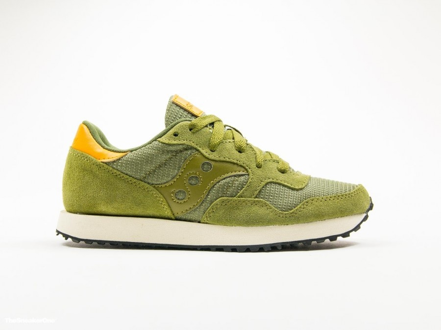 Saucony DXN Trainer Olive Wmns-S60124-52-img-1