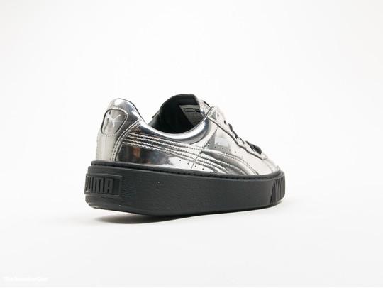 Puma Basket Platform Creepers Metallic Silver-362339-06-img-4