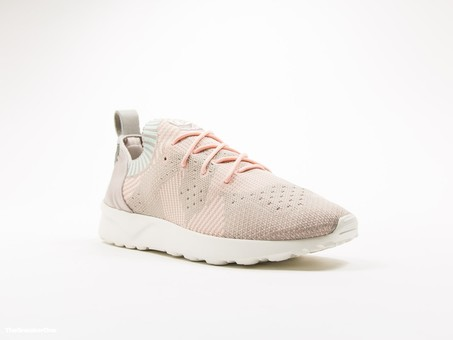 5ef62423fc1ae adidas ZX Flux ADV Virtue PrimeKnit Pink - BB4266 - TheSneakerOne