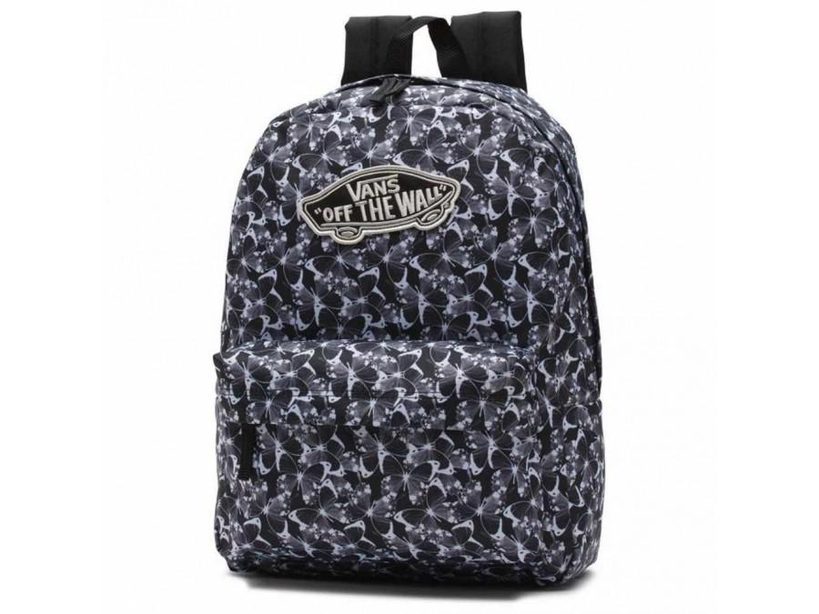 Mochila Vans Backpack Butterfly Black