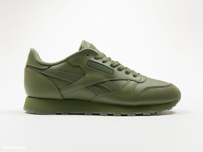 Reebok Classic Leather Solids Canopy Green-BD1322-img-1