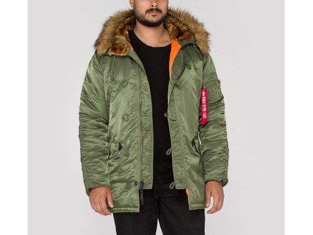 Parka Alpha Industries Inc N-3B VF 59 Sage Green-103141-01-img-1